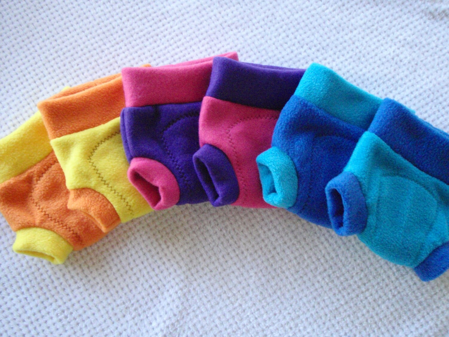 FLEECE Soaker, SMALL. Choose Color