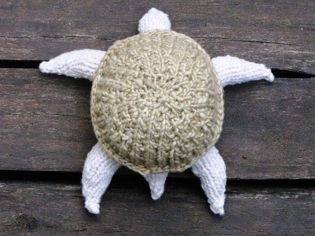 Knitted Turtle Pattern : Turtle Knitting Pattern - Natural Suburbia
