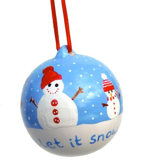 Unavailable listing on etsy for White christmas baubles