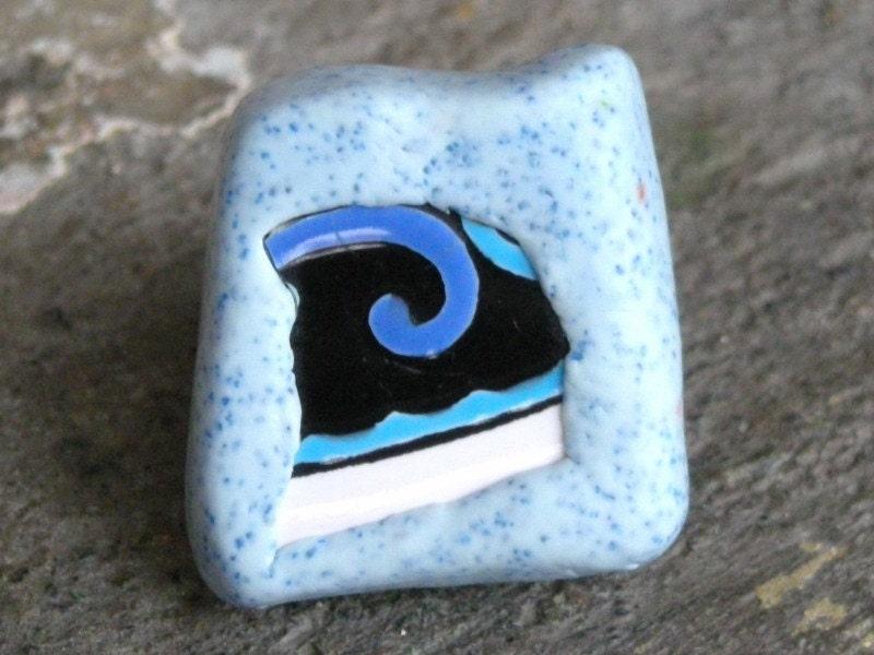 Осколок ORIENT 1 керамики и Полимерная глина кольцо