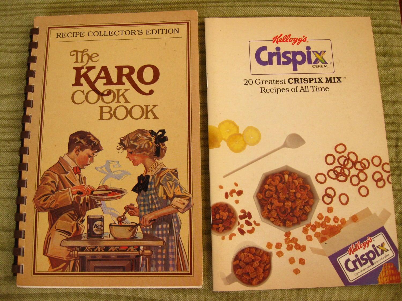 vintage 1981 The karo cook book collector's edition