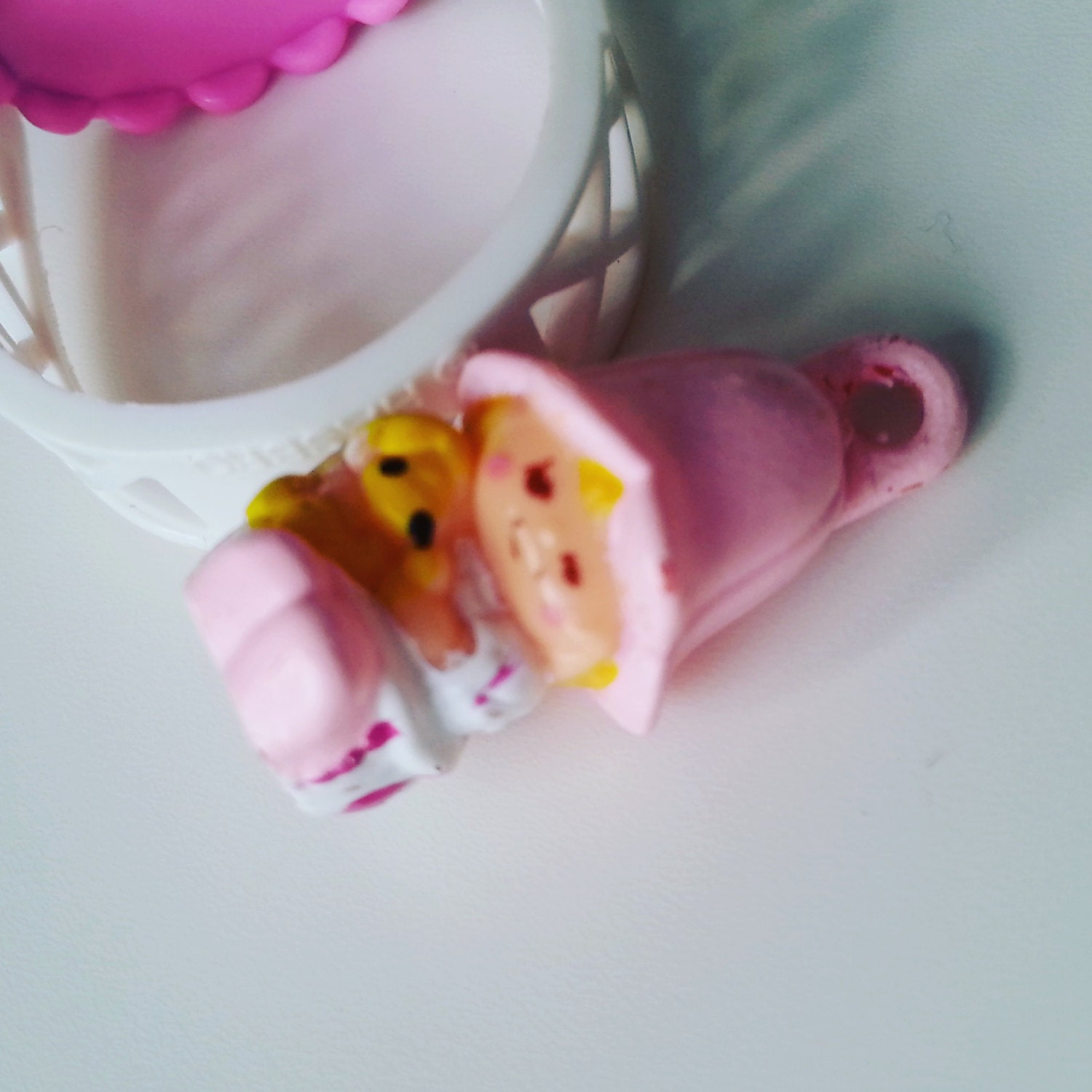 Lil Tulip with ring Charmkins hasbro vintage toy good used condition1983 80s by NewellsJewels