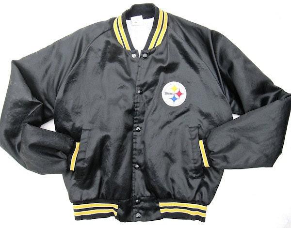 Pittsburgh Steelers Chalk Line Jacket Size by worldvintagefashion