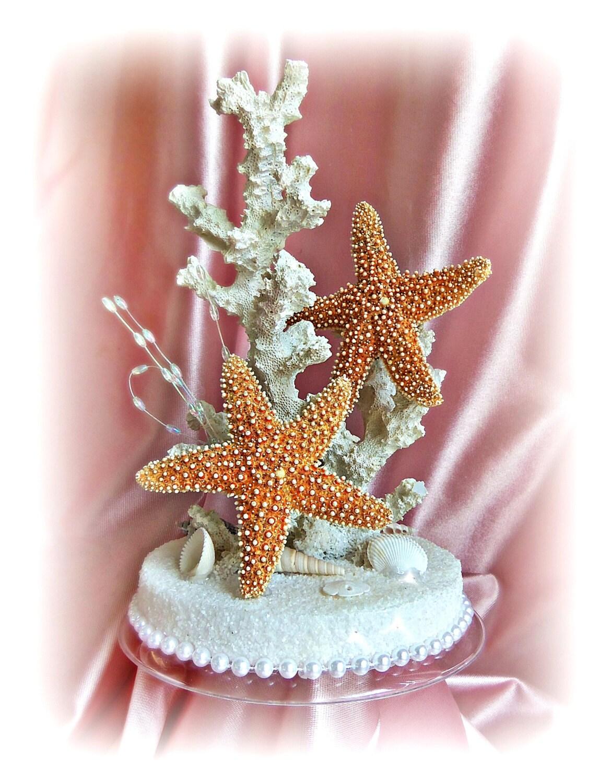 Etsy Starfish Cake Topper