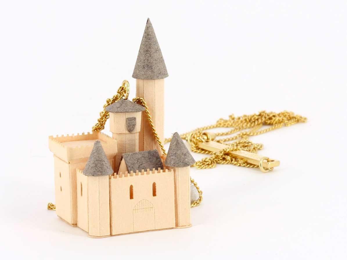 """""""Castle"""" Necklace"""