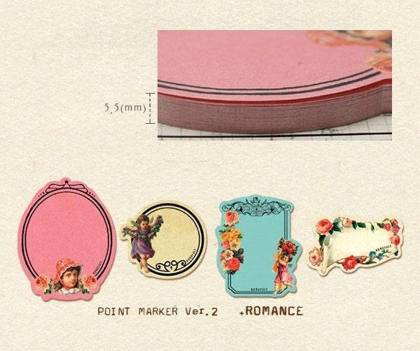 Sticky Post It - POINT MARKER 200 sheet (Romance)