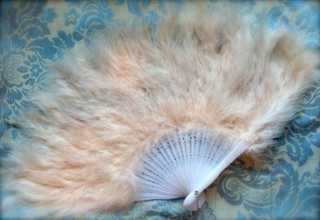 Luxurious Elegant Feather Fan