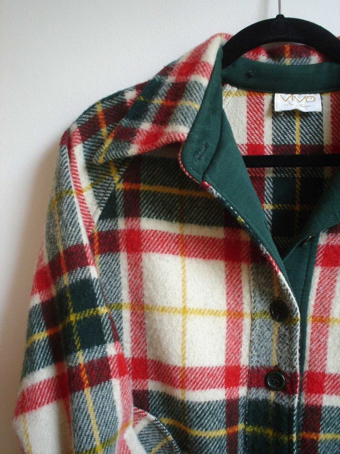 Lumberjack Plaid Wool Pullover
