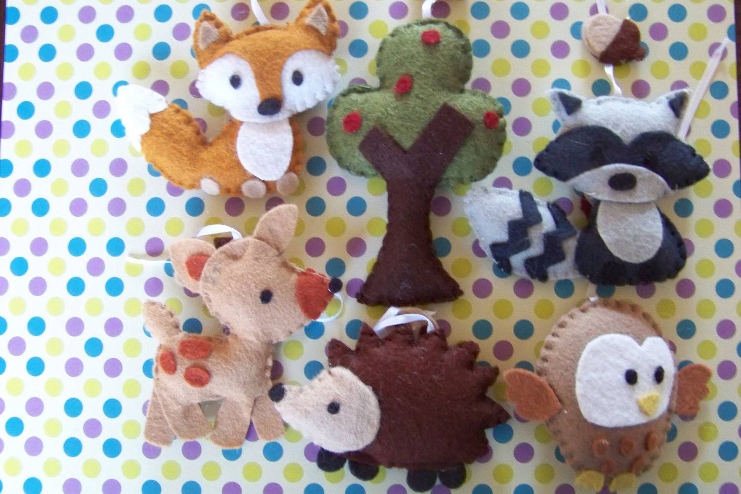 Unavailable listing on etsy for Woodland animals nursery mobile