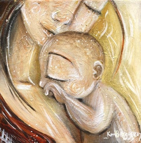 A MIDWIFE'S LIFE: Pregnancy Art and Belly Casting