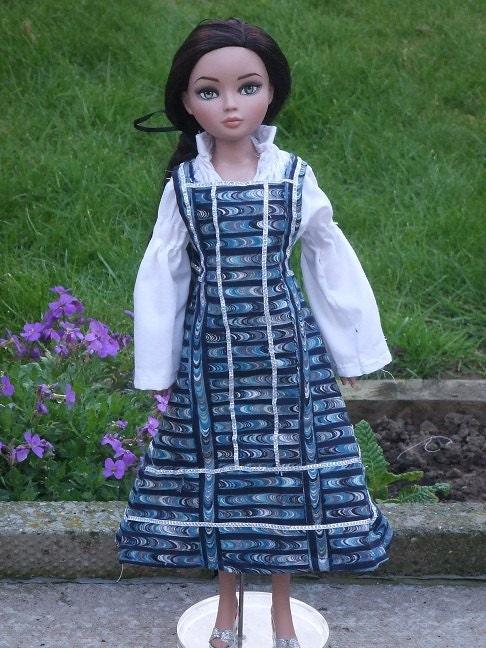 Anoushka  a sewing pattern for 16 dolls Ellowyne Tyler Gene 16 bjds Unoa
