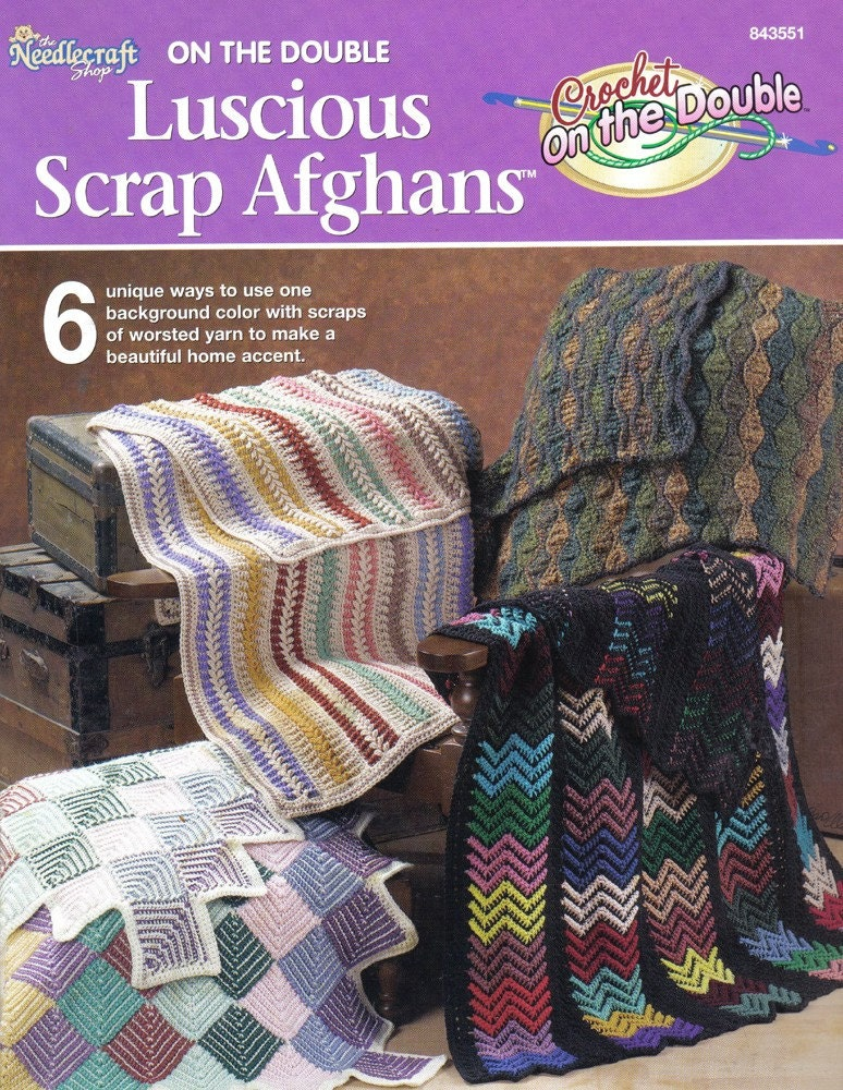 Double Crochet Ripple Afghan Pattern | Scrapbook Shoppe