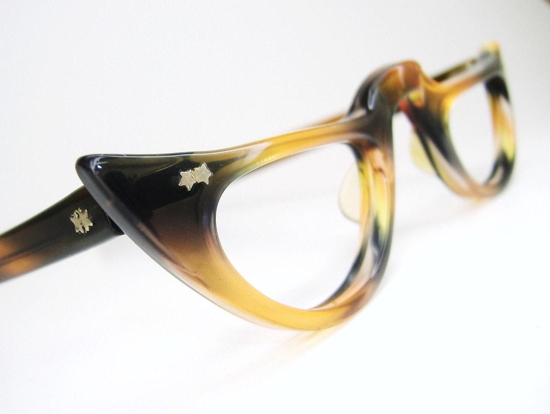 Cat Eye Frame Reading Glasses : Vintage Cat Eye Reading Glasses Eyeglasses by ...