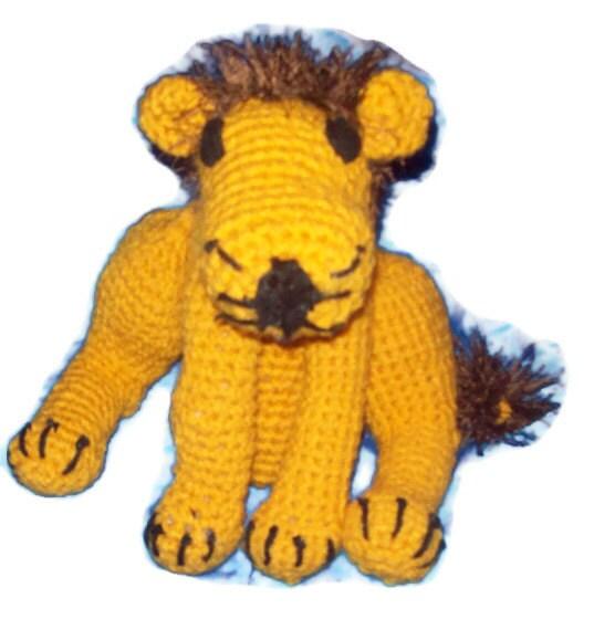 Large  Amigurumi Lion Leo - amydscrochet