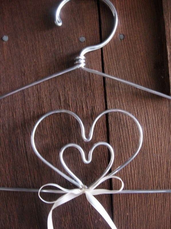 The Original Double Heart Lingerie Hanger