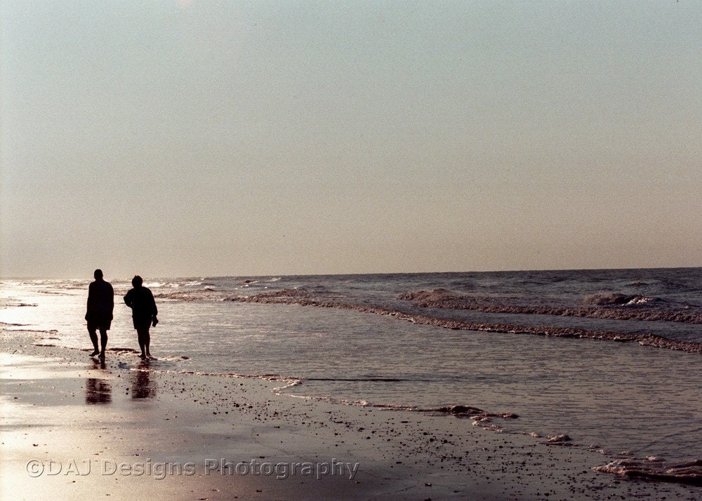 Fine Art Photography - Two on the Beach 5x7 Print