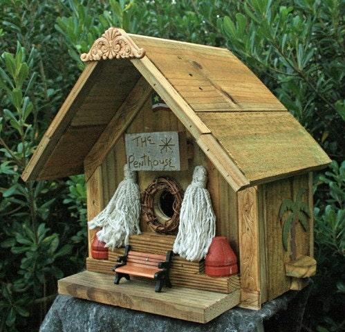 The Penthouse birdhouse