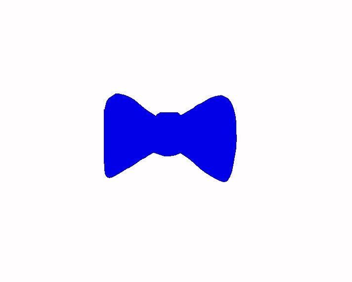 Items similar to Men Bow Tie no.1 Paper Cut Outs Scrapbooking ...