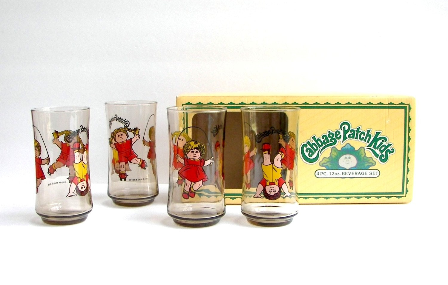 Cabbage Patch Drinking Glasses