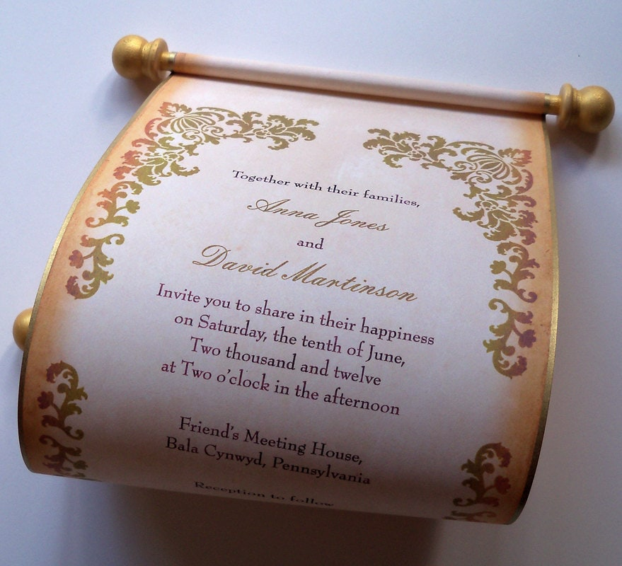 Medieval Wedding Invitations for your inspiration to make invitation template look beautiful
