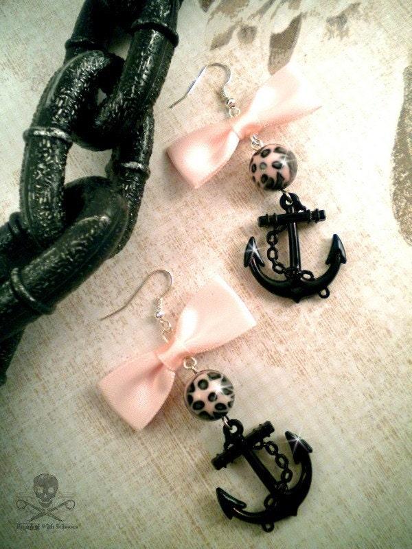 Sultry Sailorette - Charm Earrings