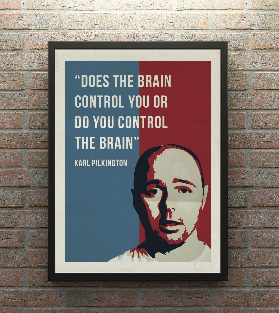 Karl Pilkington Poster by TheCreativeTicket on Etsy