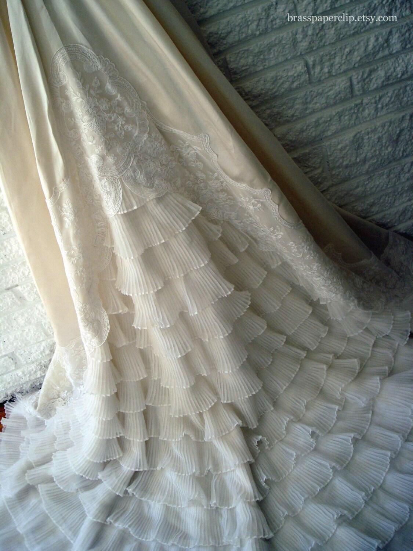 Exquisite Vintage William Cahill Wedding Gown