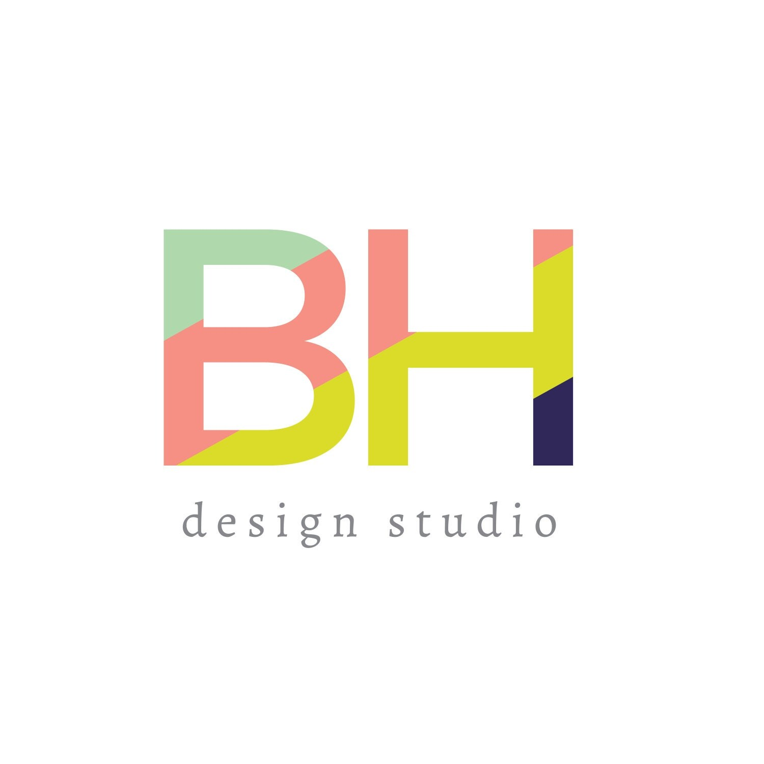 Graphic design business logo
