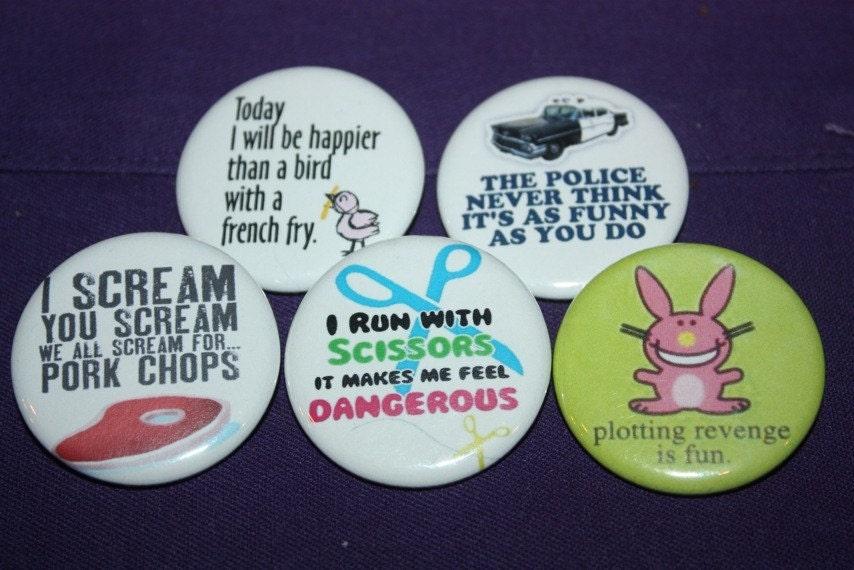 random funny sayings. Random Funny Sayings Button
