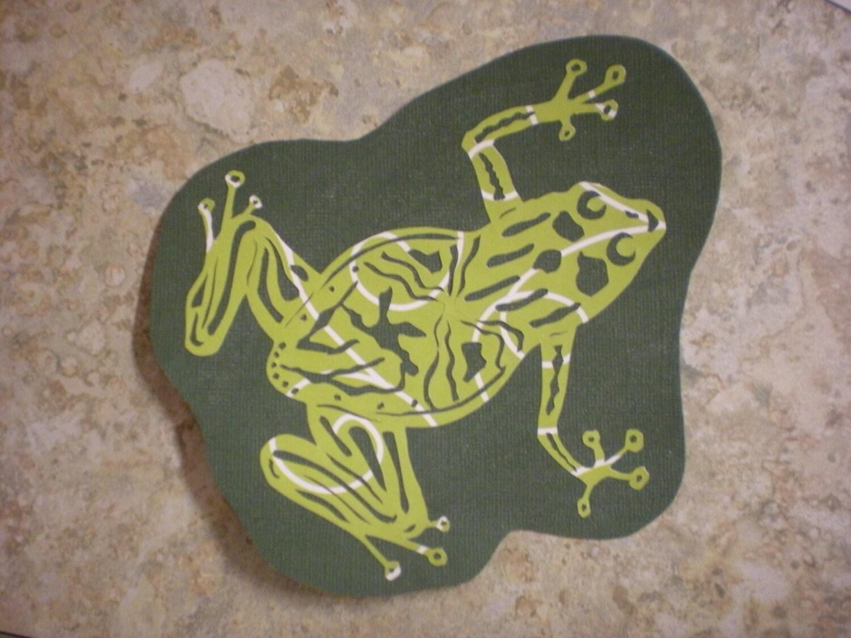 Frog Papercut