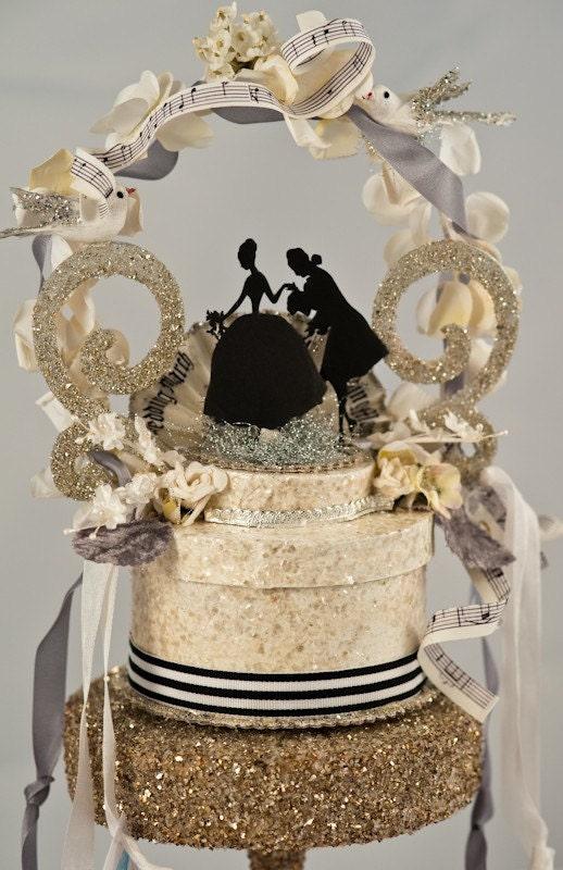 Marie Antoinette Wedding Topper