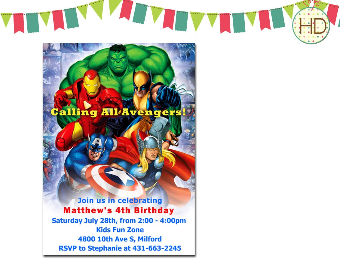Superhero Invitation, Superhero Party, Marvel Superhero, Superhero ...
