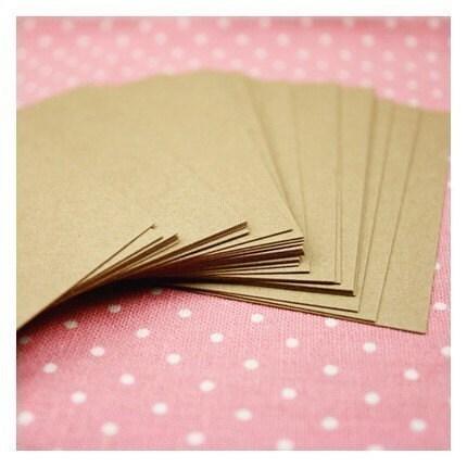 Kraft Business Card - blank (30 sheet)