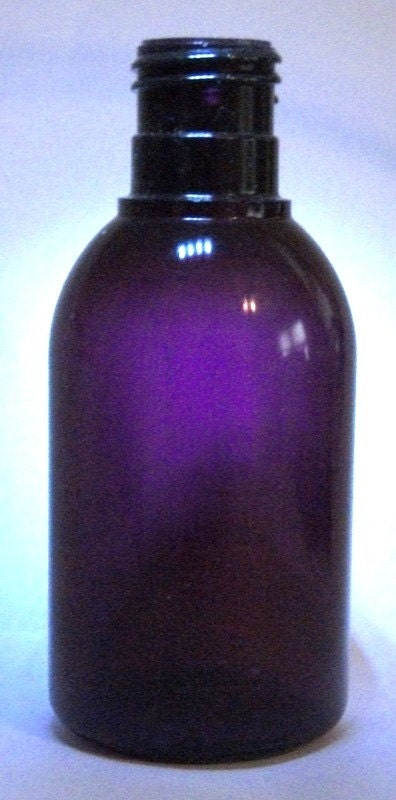 4 Oz Purple Pet Boston Round Plastic Spray Bottles By