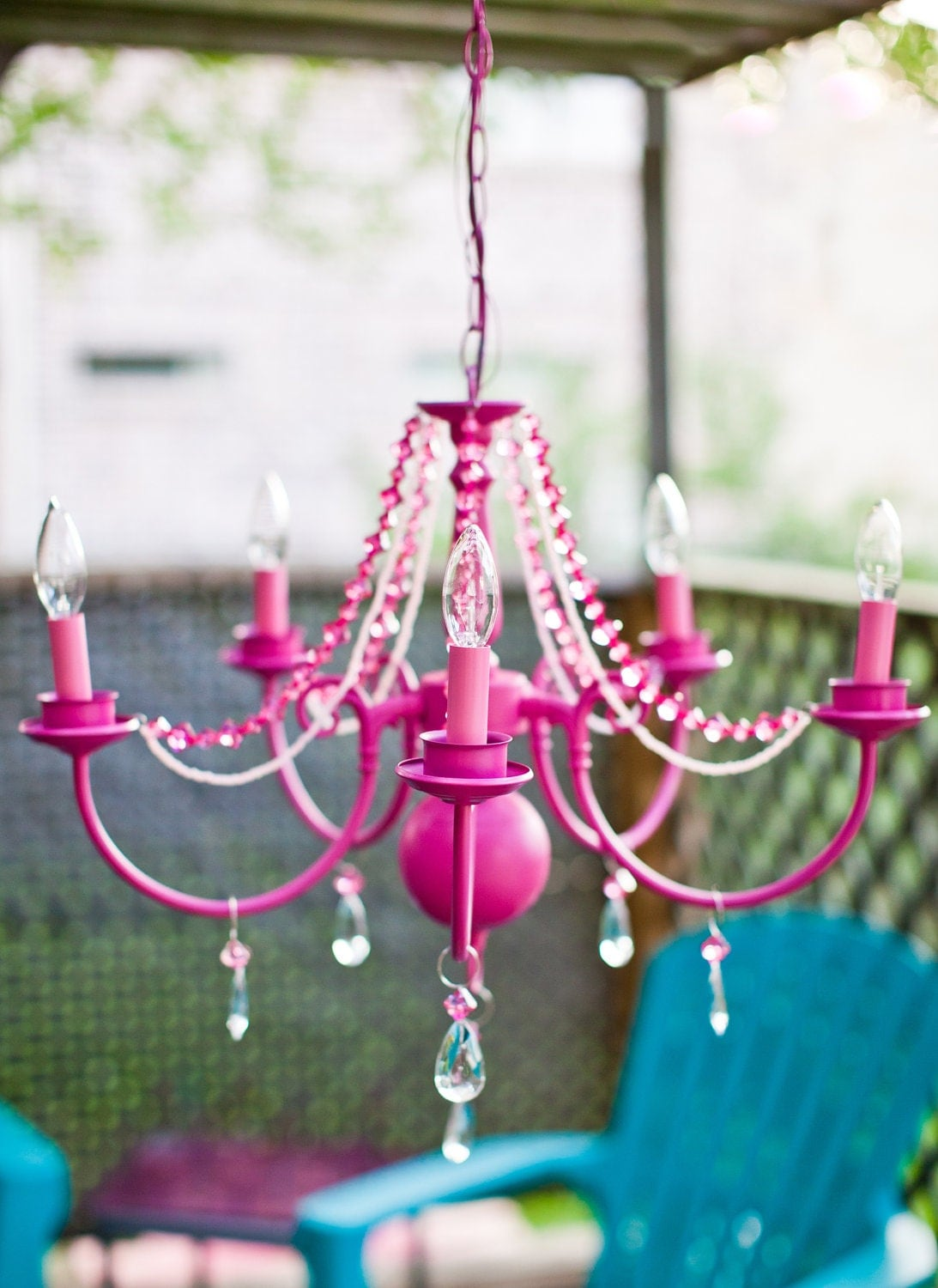 Hot Pink Girly Barbie Victorian Mod Nursery Decor by