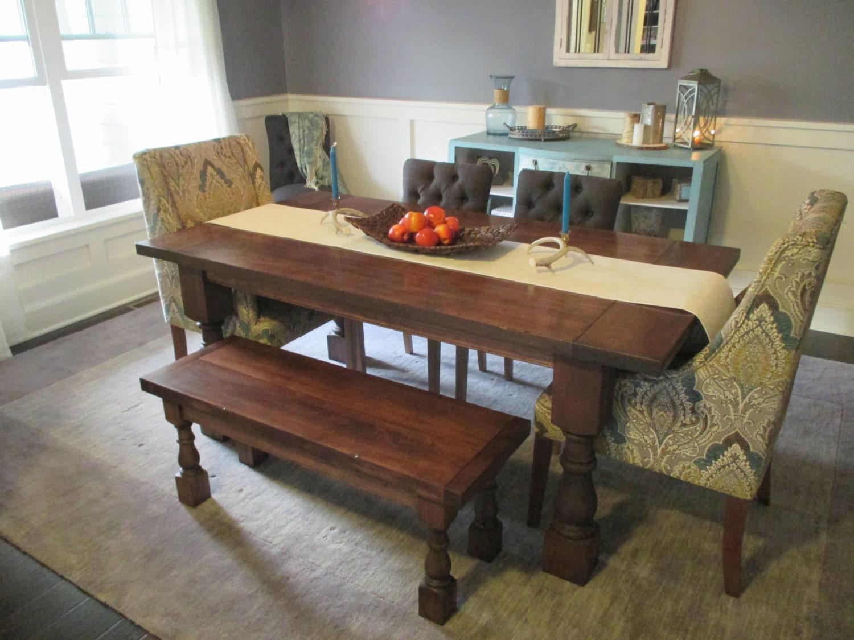 Farmhouse table dining