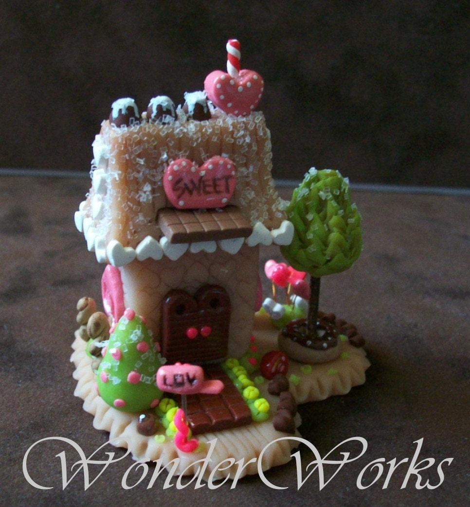 WHIMSY LOVE SWEET SHOP ... Gingerbread Series