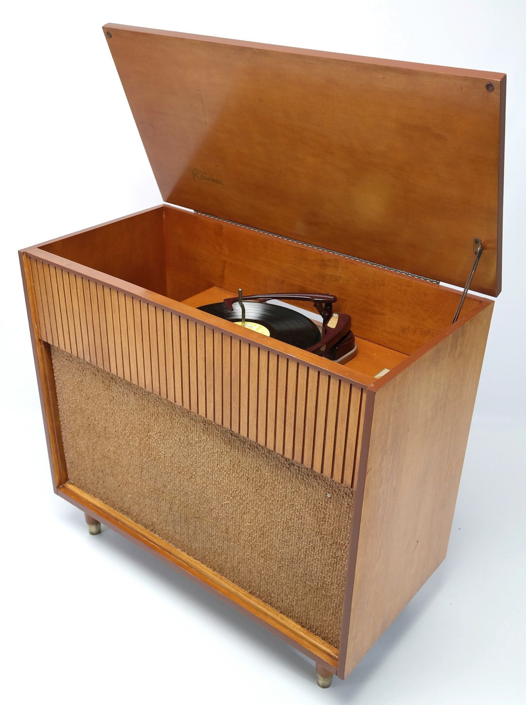 Philco record player cabinet