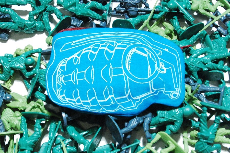 Pics Of Money Bags. Blue (Grenade) Money Bag