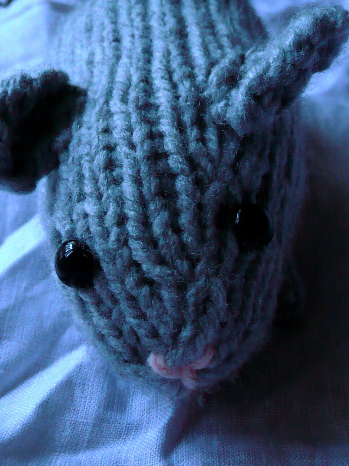 Knitting Pattern For A Guinea Pig : Knit Guinea Pig PATTERN by theoneandonlyEMI on Etsy