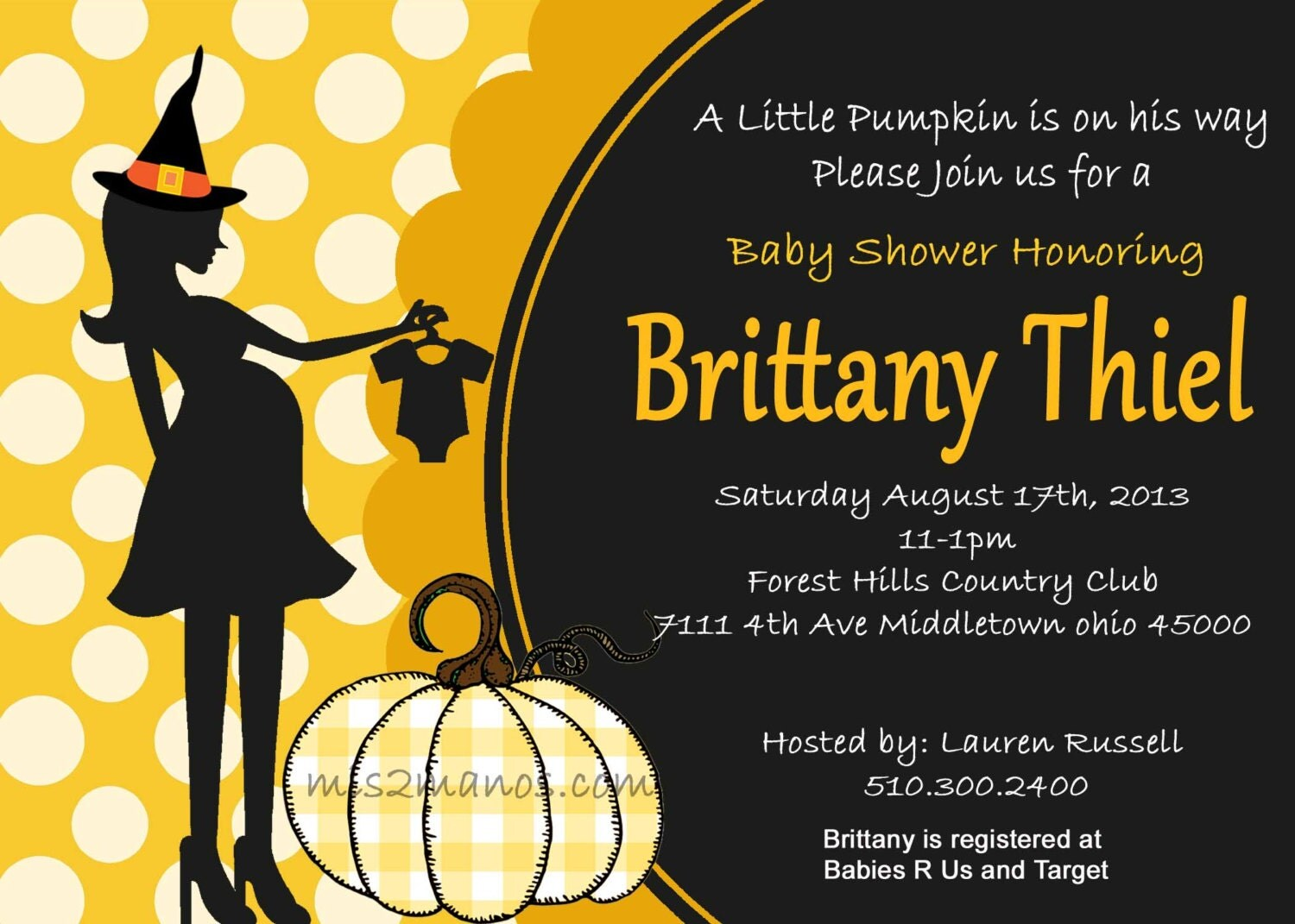 halloween baby shower invitation pumpking baby by m2mpartydesigns
