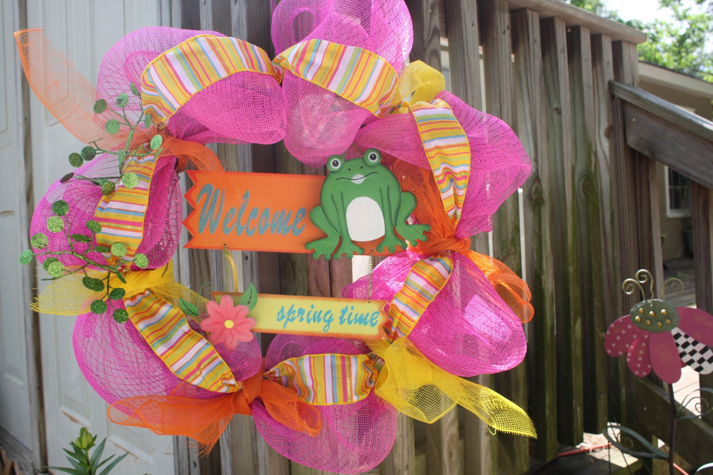 Ribbit Wreath by GooseyGoo