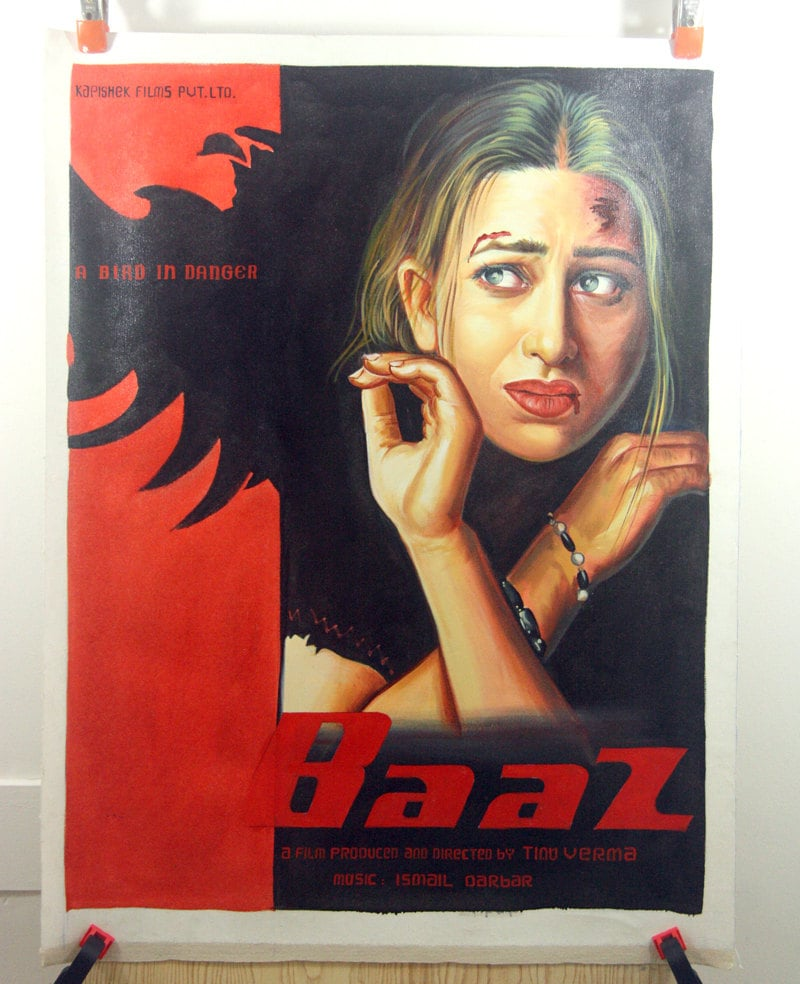 Movie poster original painting