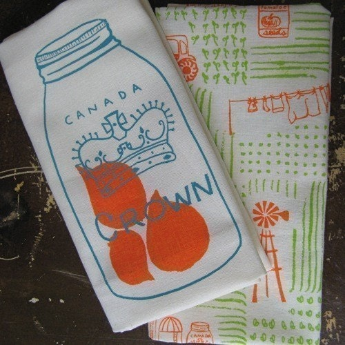 century farm tea towels