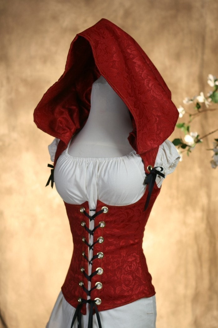 Really Hot Red Riding Hood Corset CUSTOM FIT