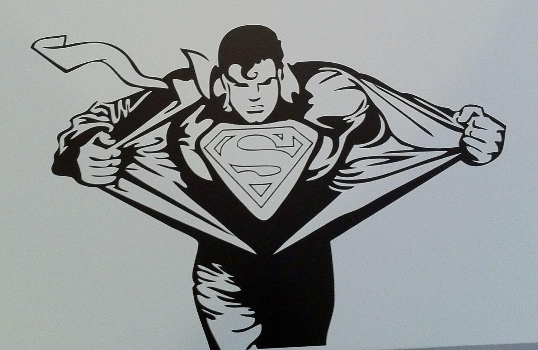 Super Hero Super Hero Wall Decals