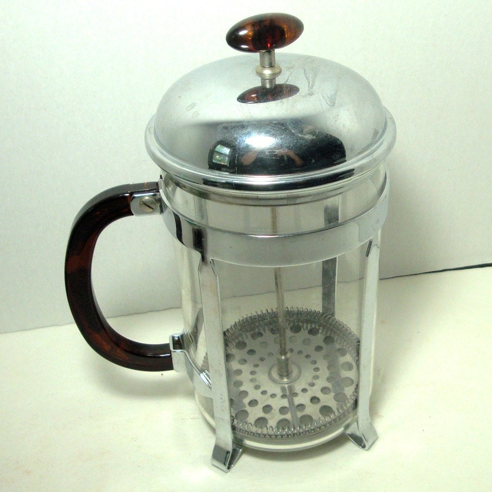 Vintage Bodum French Press Coffee By Vintagestarrbeads On Etsy