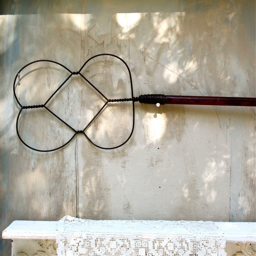 Items Similar To S.A.L.E. 30% Off: Antique Rug Beater