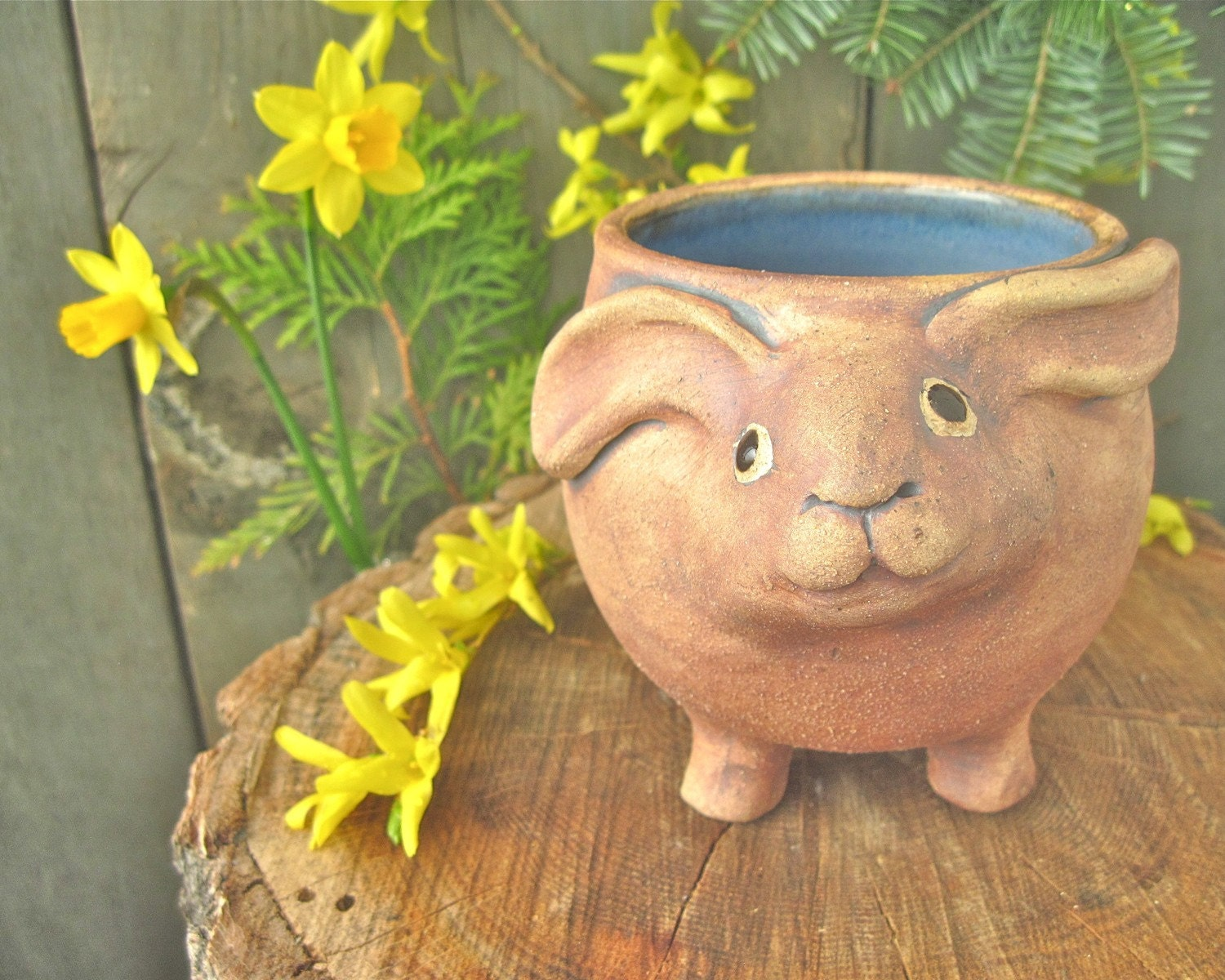 Rosie Rabbit Vase