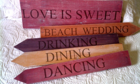 Your WEDDING COLORS Rustic